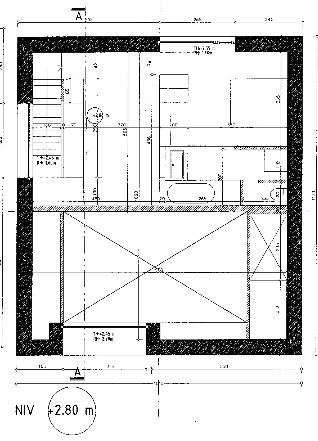 Grondplan passiefhuis lokeren for Grondplan badkamer